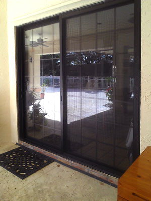 sliding glass door repair lake worth fl